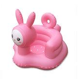 Мультфильм Розовый Кролик Надувные Игрушки Ванная комната Диван Кресло Учиться Портативный многофункциональный Безопасность Обеденный