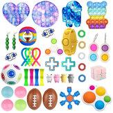 44 шт., Непоседа, набор игрушек-антистресс, облегчение, подарочная упаковка, взрослые, детские, мягкие, сенсорные, антистресс, облегчение, пуз