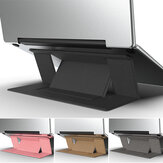 Supporto portatile regolabile invisibile portatile universale per superficie notebook Macbook portatile