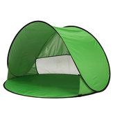 في الهواء الطلق 1-2 شخص التخييم خيمة التلقائي أوف شاطئ ظلة الستارة