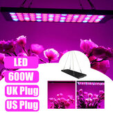 600W LED Grow Light Hydroponic Full Spectrum Indoor Plant Veg Flower Panel Lamp AC85-265V