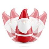 Julegave Mini Santa Claus Tumbler Bluetooth Trådløs Speaker Touch Sensor til Kid