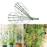 45 cm Escalade Vigne Rack Plastique Enduit Fer Plante Support Cadre Jardin Balcon Plante Fleur Treillis