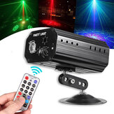 9W 48 Patterns RGB proiettore LED Laser Stage Light DJ Disco KTV Home Party lampada Decor AC100-240V