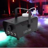 500 W LED Wireless remoto Controllo Smoke Fog Machine DJ Disco Laser Stage Light Club Pub Natale