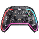 BIGBIG WON Rainbow C1 RGB Somatosensory Wired Gamepad Game Controller Joystick for Nintendo Switch PC for PS4 PS5 Game Console with R90 for Xbox SwitchPro遅延なし透明シェル