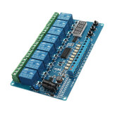 DC 8V To 36V Industrial Grade 8 Channel Multi-function Relay Module Wide Voltage Supply Module