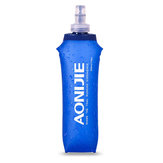 AONIJIE 500ML Folding Water Bottle Portable Outdoor Sports Cycling Hiking Climbing Soft Kettle