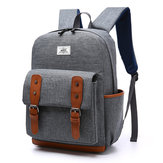 Men Nylon Vintage Large Capacity Satchel Shoulder Bag