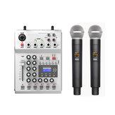 Bảng điều khiển trộn âm thanh DJ sân khấu DJ FOLE F-12T-USB