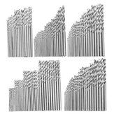 16/25/28/30/40Pcs High Speed Steel Metric Twist Drilling Drill Bits Set 0.5-3mm