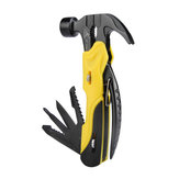 R'DEER RT-2345 7 in 1 Multi Mini Foldaway Survival Tool Pocket Hammer Plers Screwdriver Tools Set