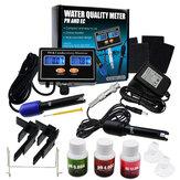 Digital PH & EC Conductivity Monitor Meter Tester ATC Vandkvalitet Kontinuerlig overvågningsdetektor i realtid