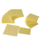 10Pcs Welding Soldering Iron Tip Replacement Sponge Cleaning Pads 6*6cm/3.5*5cm
