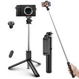 ELEGIANT EGS-04 Selfie Stick Bluetooth Mini Trépied Monopode Conception Intégrée Léger Sans Fil avec Télécommande pour Gopro DSLR Caméra Téléphone Mobile