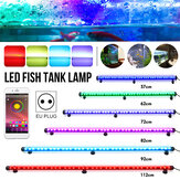 57/62/72/82/92 / 112CM RGB LED Acquario Fish Tank Light Bluetooth Controllo APP