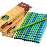 NYONI N-2801 12 pezzi / scatola Set di matite a carboncino da disegno Soft Set di pittura di media durezza Schizzo Pittura Cancelleria Forniture per studenti della scuola