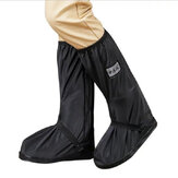 Women Outdoor Thicken Waterproof Non Slip Mid Calf Rain Boots Covers