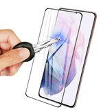 Bakeey pour Samsung Galaxy S21 Ultra 5G / Galaxy S21 + 5G / Galaxy S21 5G Film avant Bord incurvé 3D HD Protecteur d'écran en verre trempé à couverture complète anti-explosion