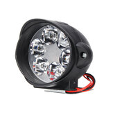 Motorfiets koplamp 6500k Wit Super Bright 6 LED-werkspot Motor mistlamp 1200LM LED-scooters Spotlight