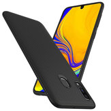 Bakeey Carbon Fiber Protective Case For Samsung Galaxy A40 2019 Shockproof Soft TPU Back Cover