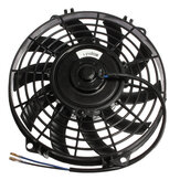 9inch Slim Reversible Electric Radiator Cooling Fan Push Pull 12V 80W