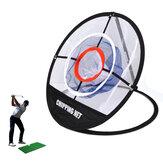 Faltbares Golf Cut Ball Netz Golf Chipping Pitching Cages Matten Dreischichtiges Netz Golf Trainingsnetz