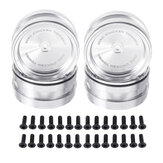 2.2 Inch Metal Wheel Hub For AXIAL SCX10 TRX4 RC Car Vehicle Parts