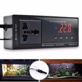 220 V LCD Termostato Digital Incubadora Réptil Snake Controlador de Temperatura Do Aquário Tomada