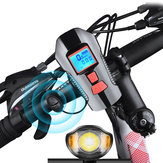 XANES SFL15 Bike Light Bicycle Cycling Horn Computer USB Rechargeable Waterproof Motorcycle E