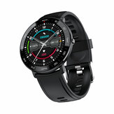 Bakeey ZL03 Heart Rate Blood Pressure Oxygen Monitor Full Round Touch Screen  9 Sports Modes Long Standby Smart Watch