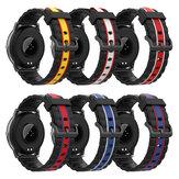 Bakeey 20/22 mm de substituição universal Silicone Relógio Banda para Haylou Solar BlitzWolf Relógio Amazfit Huawei Relógio GT Xiaomi Relógio Cor não original