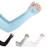 AONIJIE E4117 UV Zonbescherming Koeling Arm Mouw Cover Arm Koeler Voor Buitensport Hardlopen Golf Fietsen Rijden IJs Zijde Mouwen