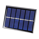 0.3W 3V Mini Solar Panel Small Solar Cell Solar Polysilicon Board for DIY Powered Models Light Toys