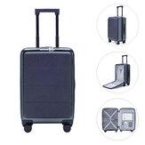 90FUN 36L 20 inch koffer Dubbel TSA-slot Handbagage 360 ° universele wielkast van Xiaomi youpin voor reiszaken