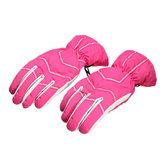 Wasserdichte Ski Handschuhe Warm Winterreit Warme Winddichte Handschuhe