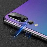 2 piezas Cámara Lente Protector vidrio templado a prueba de explosiones trasero Cámara teléfono Lente para Huawei P20 Pro