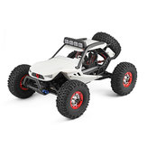 Wltoys 12429 1/12 2.4G 4WD Yüksek Hızlı 40km / h Off Road On Road RC Araba Head Light ile