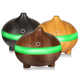 Ultrasonic Aroma Essential Oil Air Diffuser Wood Grain Humidifier USB Cool Mist Humidifier