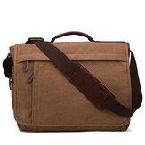Men Large Capacity Canvas Business Laptop Bag