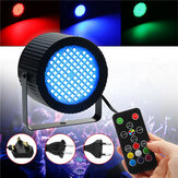 20W 88 LED RGB Sound Control Stage Light Laser Projector Lamp with Remote Control
