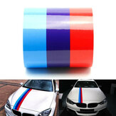 60Inch M Color Stripes Rally Side Hood Racing Motorsport Decal Sticker for BMW
