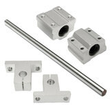 SCS8UU/SK8 8x200mm Optical Axis Linear Ball Bearing Rail Guide Support CNC Set