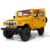 WPL C34 1/16 RTR 4WD 2.4G Грузовик Гусеничный внедорожный RC Авто 2CH Модели автомобилей с головным светом Пластик