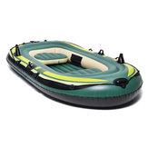 3 persoon opblaasbare boot Set vlot lucht kano kajak rubberboot vissen Tender Rafting Water Outdoor Sport