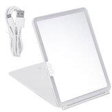 Frame Light Makeup Mirror White LED Daylight Adjustable Light Detachable Base
