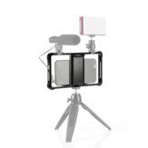 SmallRig 2391 Standard Universal Mobile Phone Cage Vloggers Video Shooting Phone Cage Accessories With Cold Shoe Mount