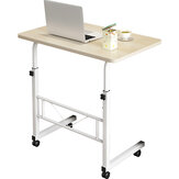 80*50CM Simple Bedside Laptop Desk Lifting Table Moving bedside Table for Home Working