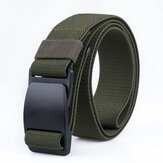 AWMNS01120cmGürtelfür Männer Damen Camouflage Gürtel Militärische Taktische Gürtelschnalle Kleiderbügel Freizeit Camping Hosen Streifen