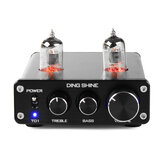 DING SHINE HiFi Digital 6J1 Tabung Vakum Treble Bass Audio Stereo Mini DAC Pra Amplifier